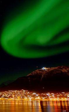 Northern lights over Tromsø, Norway | by Rolando di Cello