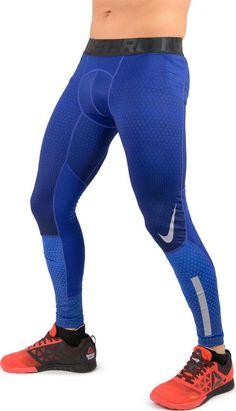 NIKE MEN PRO HYPER WARM TIGHT COOL GREY BLUE GREEN 802014 480 065 100 340 Nike Tech Fleece Pants, Blue Grey, Nike Men, Tights, Warm, Green, Fashion, Navy Tights, Moda
