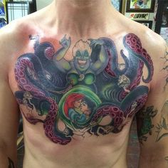 Disney, Tattoo