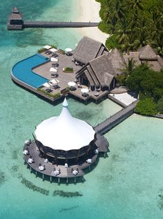 Baros Hotel in the Maldives Beautiful Places To Visit, Oh The Places You'll Go, Places To Travel, Paradise Places, Paradise On Earth, Brunei, Laos, Maldives Destinations, Ultimate Travel