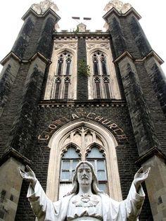 Gloria Church, Byculla, Mumbai, India.