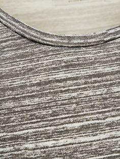 EENVOUDIG LANG MODEL T-SHIRT MET LANGE MOUWEN, Cool Grey