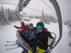 Want to become a ski instructor? Take our 4 week course and secure your paid ski season job in Whistler teaching kids how to ski. Get started now on our best project in Canada. Work Project, Ski Season, Gap Year, Whistler, Skiing, Places To Visit, Training, Seasons, Image