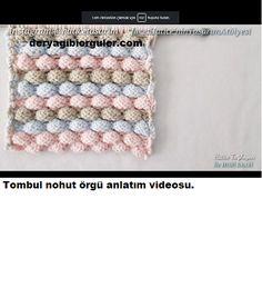 Tek Yumakla Ombre Kazak Yapılışı | Deryagibiörgüler Crochet Hats, Knitting Hats