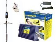 Cell phone signal booster kit