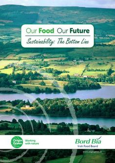 Bord Bia Our Food Conference - brochure published online using Issuee - though it is not clear if this is an organisation connected to Bord Bia Brochure Food, Irish Recipes, Brochures, Cover Design, Conference, Ireland, Digital, Green, Nature