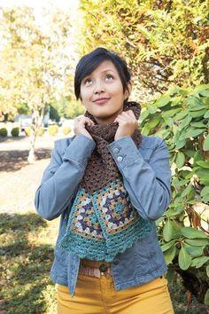 Nacho Granny's Crochet Scarf