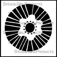 6 stencils are designed by artists for people who love stencils like we love stencils. These laser cut stencils allow for fine details. The 7 mil mylar stencils are durable and thin enough to provide seamless look. Free Doodles, Handmade Stamps, Mixed Media Artwork, Stencil Designs, Circle Design, Adult Coloring, Fiber Art, Stencils, Illustration Art