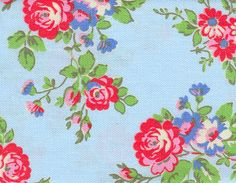 Cath Kidston fabric- need to crochet in these colors