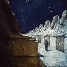 Frantisek Kupka, The Way of Silence,  aquatint, etching