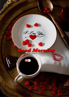 Red Tea for cleansing and weight loss Red tea is healthier than both black tea and green tea. Red tea is also tremendous for cleansing and weight loss. The Red Tea Detox will flush away fat and toxins in your body fast ! Good Morning Coffee, Good Morning Love, Good Morning Greetings, Coffee Break, Coffee Vs Tea, I Love Coffee, Coffee Cafe, Gif Café, Red Velvet Muffins