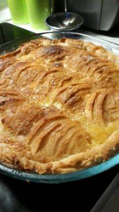 Rusztikus krémes-almás tortácska Apple Pie, Baking Recipes, Food To Make, Ale, Foods, Cookies, Drink, Sweet, Cooking Recipes