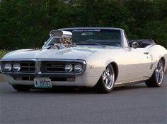 Blown \'67 Firebird convertible