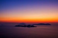 sunset from Rhodos  Travel photo by iliasanthitsas http://rarme.com/?F9gZi
