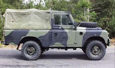 Military Landrovers - fond memories of repainting, maint days and driving blindfolded :)