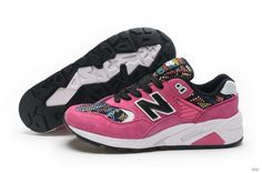 964ce4b3e38d Discover the Online New Balance 580 Women Pink collection at Footseek. Shop  Online New Balance 580 Women Pink black