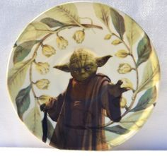 Yoda / Geek Retro /  Decorative Vintage by CabinetPrettyThings, $48.00