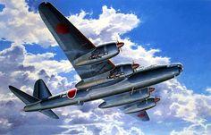 1945 Nakajima G8N1 Renzan