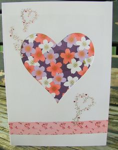 Impress the love of your life with a creative handmade Valentine card. Check out fresh and innovative DIY card making ideas here for crafting a special card. Valentine Day Cards, Valentines, Card Making Techniques, Valentine's Day Diy, Diy Cards, Decor Crafts, Pink Flowers, My Etsy Shop, Half Price