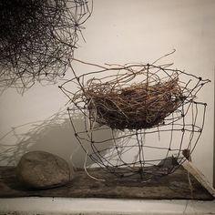 David, Land Art, Wire Art, Rustic Farmhouse, Mixed Media, Weaving, Bronze, Earth, Instagram