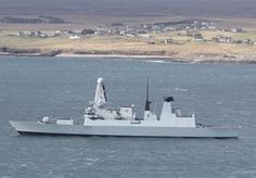 Royal Navy's ultra-modern Type 45 destroyer, HMS Dauntless, pays a much anticipated visit to Newcastle, her affiliated city, March 27, 2014. HMS Dauntless, the second of the Type 45 destroyers, joined the Fleet in November 2010, shortly after being the first of the class to fire the new Sea Viper missile.