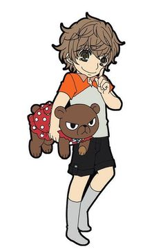 yukarikoume : OOOOH!!! trop choupi-kawaii!!! O////O j'adore! il est trop mignon comme sa Kirishima <3 avec un petit aire a la Usagi-san en plus.