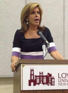 #TBT Hoda Kotb at the SMC! The Today Show co-host came and talked to the #LoynoSMC on her journey and success in broadcast journalism!