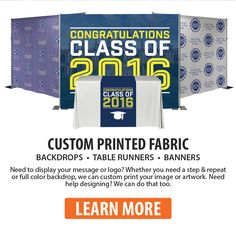 Define Your #Graduation Space https://www.georgiaexpo.com/pipe-drape-universities/