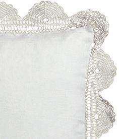 Lace cushion H&M