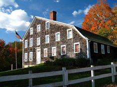 The Paine house was built around 1691 by Samuel Bennett. Samuel ran a saw mill at this site & it is believed that the house began as a one room shelter. The mode for travel at that time was the Pawtuxet River. The property was passed to his son Samuel & in 1741 the first town meeting & election took place here. In 1742 the property was sold to Francis Brayton who added to the house & was granted a license to sell spiritous liquors & the house became a house of entertainment, an inn or a…
