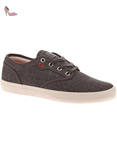 GS, Chaussures de Skateboard Homme, Noir (Washed Grey/Toffee), 45 EUGlobe