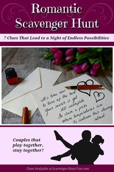Add a little mystery to your romantic Valentine or anniversary celebration. Send your lover on a romantic scavenger hunt that leads to you and. Romantic Bedroom Ideas For Anniversary Scavenger Hunt Riddles, Adult Scavenger Hunt, Scavenger Hunt Birthday, Romantic Scavenger Hunts, Romantic Surprise, Romantic Gifts, Romantic Ideas, Romantic Things, Romantic Anniversary