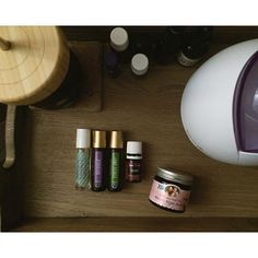 """Last night Austin looked at me and said """"honey.... I'm so oily. I put 3 different oils on before bed! And I actually wanted to!""""  Best thing I've heard all week!  These have been my lifesavers the past few nights: Stress Away, RutaVaLa, and Vetiver for sleep. Immunity roller for immune support. And @earthmamaangelbaby nipple butter for my super chapped lips (probably my favorite use for it)!"""