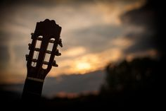 Guitar on sunset by Kalin Chterev - Photo 173695987 / 500px