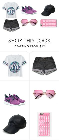 """""""Totally my style"""" by sydneybushh on Polyvore featuring Aéropostale, PèPè, NIKE, Vianel, Casetify, women's clothing, women, female, woman and misses"""
