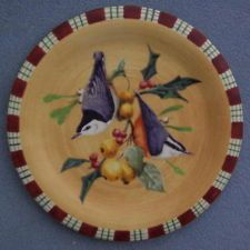 Lenox Winter Greetings Everyday Nuthatch Salad Plates