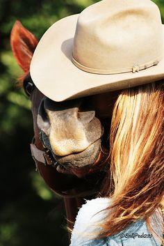 A girl always needs her horse..
