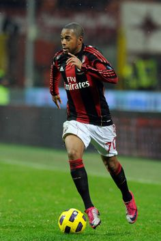AC Milan phenom, Robinho.