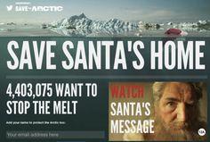 ¡Navidad cancelada! Nueva campaña de Greenpeace para salvar el Ártico