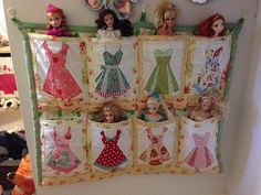 https://flic.kr/p/qwbBxa | Doll tidy | Doll Tidy up made using the paper piecing pattern from Charise Creates.