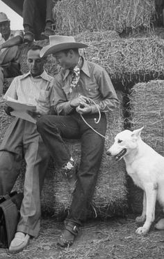 Roy Rogers And His Dog Phantom (c.1939)