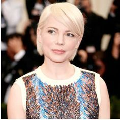 Makeup/Hairstyle Trends 2014 Met Gala Ball: #bstat Michelle Williams