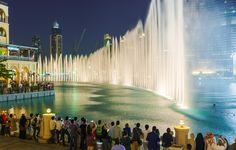 The Dubai Fountains -The Unforgettable Sale - Save Up To £100 Extra Off Holidays In Dubai At British Airways