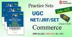 Practice Sets UGC/#NET/#JRF/#SET Commerce (Paper-II & III) #books.Cd:1937 @Rs.154. Order Now!!  #UGCNETBOOKS #UpkarPrakashan #CompetitiveExamBooks