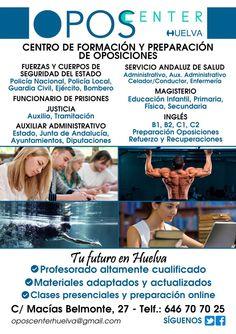 Academia OPOSCENTER. Un centro de Formación en Huelva.  Fuerzas y Cuerpos de Seguridad del Estado:        Policia Nacional, Policia Local, Guardia Civil, Ejercito, Bombero. Funcionari…