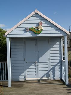 Beach hut at Whitstable Kent [shared]
