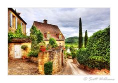 A small country village in the Dordogne Valley France, from Scott Williams.