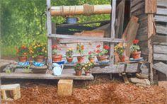 Wood Paneling Rockers And Bricks On Pinterest