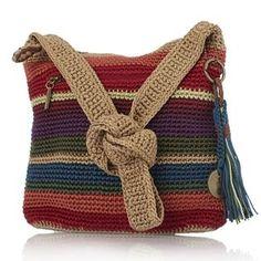 Free Crochet Bag Patterns Part 5 - Beautiful Crochet Patterns and Knitting Patterns Free Crochet Bag, Crochet Shell Stitch, Crochet Tote, Crochet Handbags, Crochet Purses, Love Crochet, Knit Crochet, Knitted Bags, Crochet Accessories