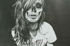 halloween: day of the dead makeup Dead Makeup, Skull Makeup, Sfx Makeup, Costume Makeup, Makeup Art, Face Makeup, Tumblr, Sugar Skull Girl, Sugar Skulls